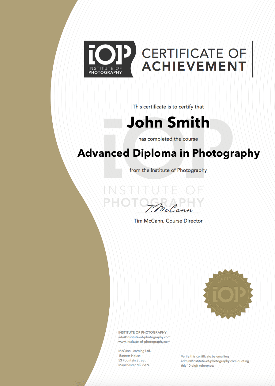 New iop photography course certificates institute of photography newsletter 1betcityfo Gallery
